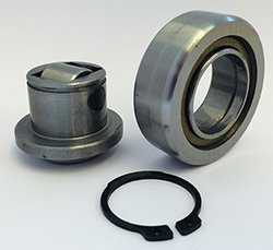 4.053 combined roller bearing disassembled