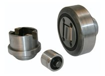 eccentrically adjustable combined roller bearing