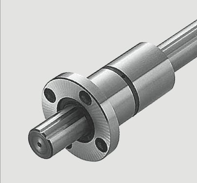 flanged torque reistant spline bush