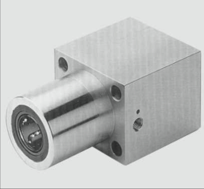 Tandem linear bearing housing