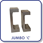 flanged clamps for CR rails