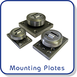mounting plates for combined bearings