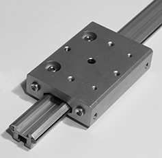 track guidance system linear motion
