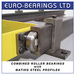 combined bearings and rails