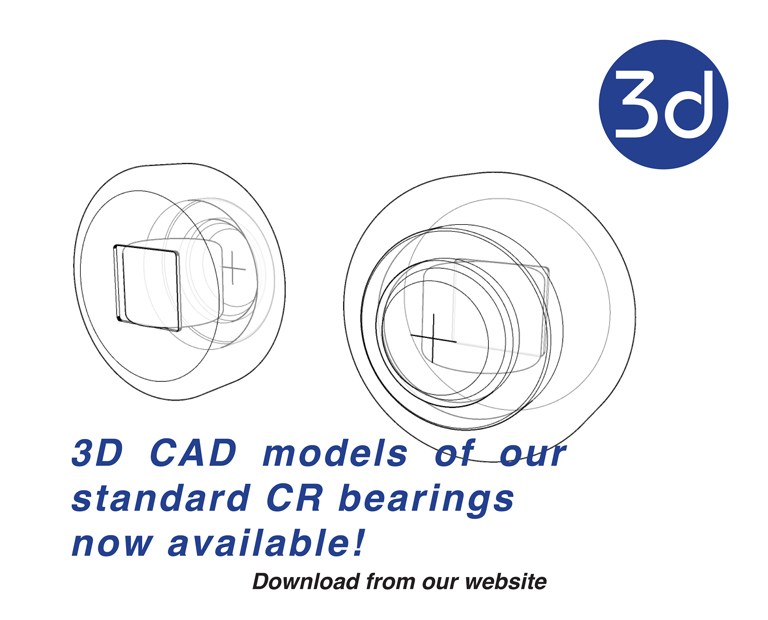 3D CAD files now available! | Blog from Euro-Bearings Ltd