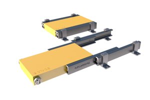 Telescopic heavy duty linear motion