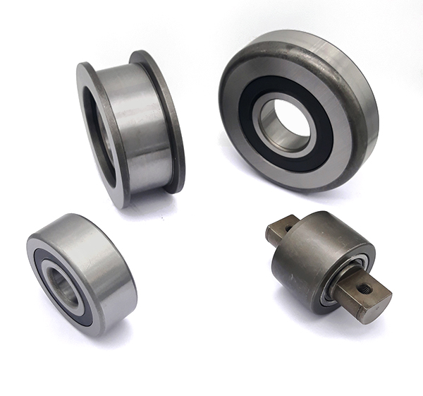 Mast Bearings - mast guide bearing, chain roller bearing, side thrust roller and carriage bearing.