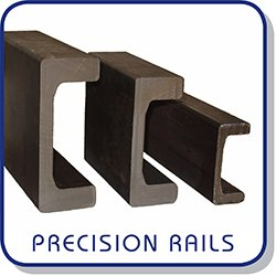 Precision channels for combined roller bearings