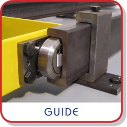 Guide to combined roller bearings and steel profiles