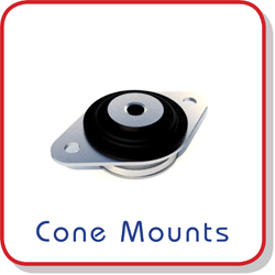 anti-vibration megi cone mount