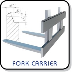 fork carrier steel profile