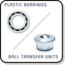 plastic bearings and ball transfer units