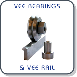 vee bearings & rails