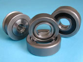 a variety of mast bearings