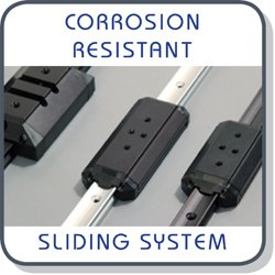 corrosion resistant linear slides