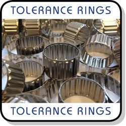 tolerance rings AN BN stainless steel